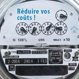 Réduire les coûts de l'électricité