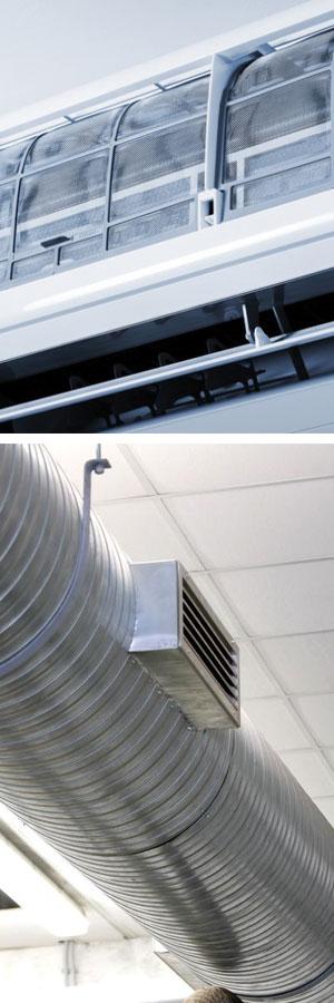 Nettoyage de conduit de ventilation par Air Pulsion